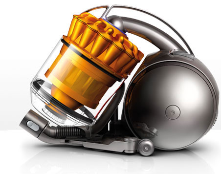 Side view of the Dyson DC37 vacuum cleaner