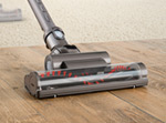 Triggerhead™ tool used on wooden floor