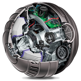 Inside Dyson Ball™ technology
