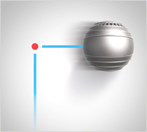The Dyson Ball turns corners easily