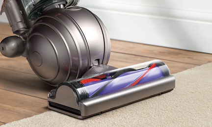 Side view of the Dyson Ball™ vacuum cleaner