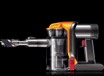 Powerful & Efficient Handheld Vacuum Cleaner with Digital Motor - Latest from Dyson - DC31 :  digital motor home gadgets living ergonomic